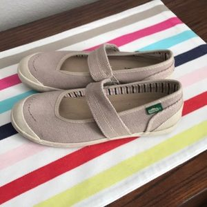 BRAND NEW!! Never worn Simple Brand Khaki Slip Ons